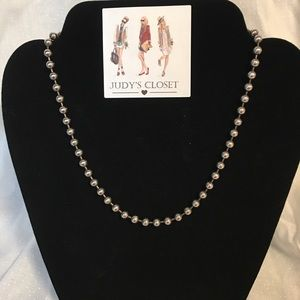 """16"""" Strand Stirling Silver (925),Bead Necklace"""